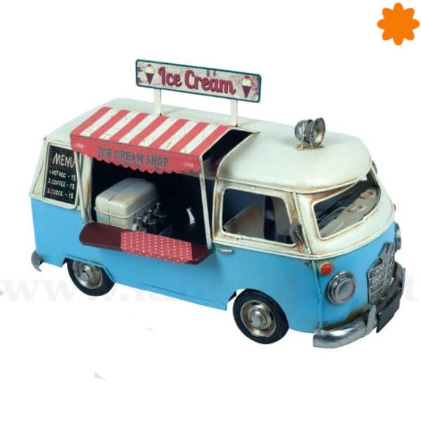 Autocaravana hippie metálica decorativa para regalar