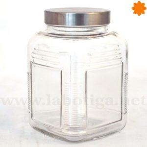 Bote Cristal Rectangular Grande