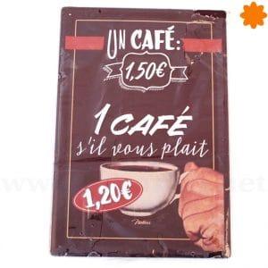 Cartel de estilo vintage para una Cafetería