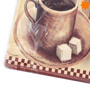 Chapa antigua de café