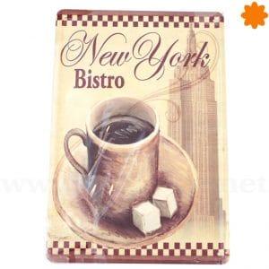 Chapa antigua de café Get more Coffee endless cup