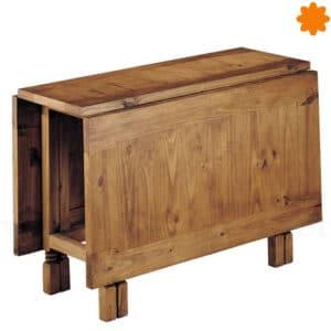 Mesa de comedor plegable de madera que pertenece a Clásico 89