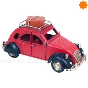 Reproduccion Citroen 2 CV metalico para decorar