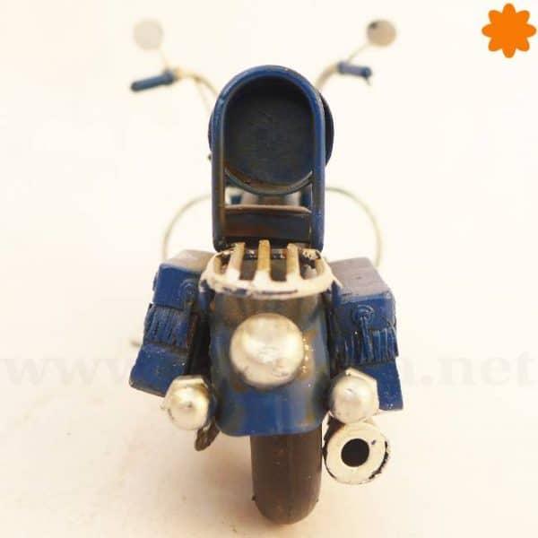chopper Harley Davidson Azul