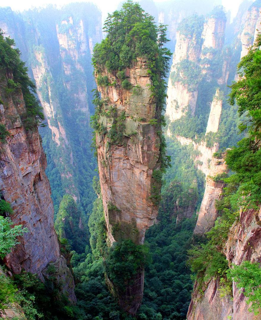 montañas Tianzi China
