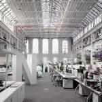 Idea de diseño de interior para una oficina en pabellón