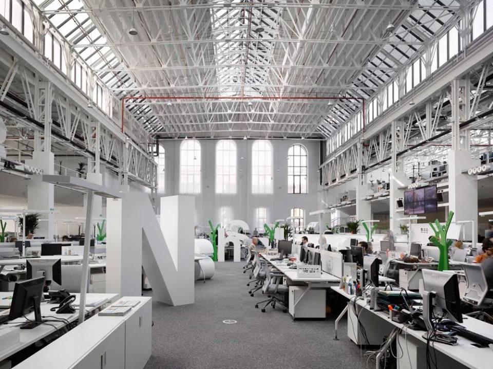 interior para una oficina