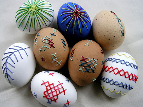 15 Buenas Ideas para Decorar Huevos de Pascua