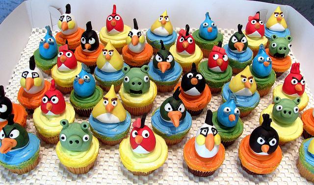 Angry Birds Cupcakes caja