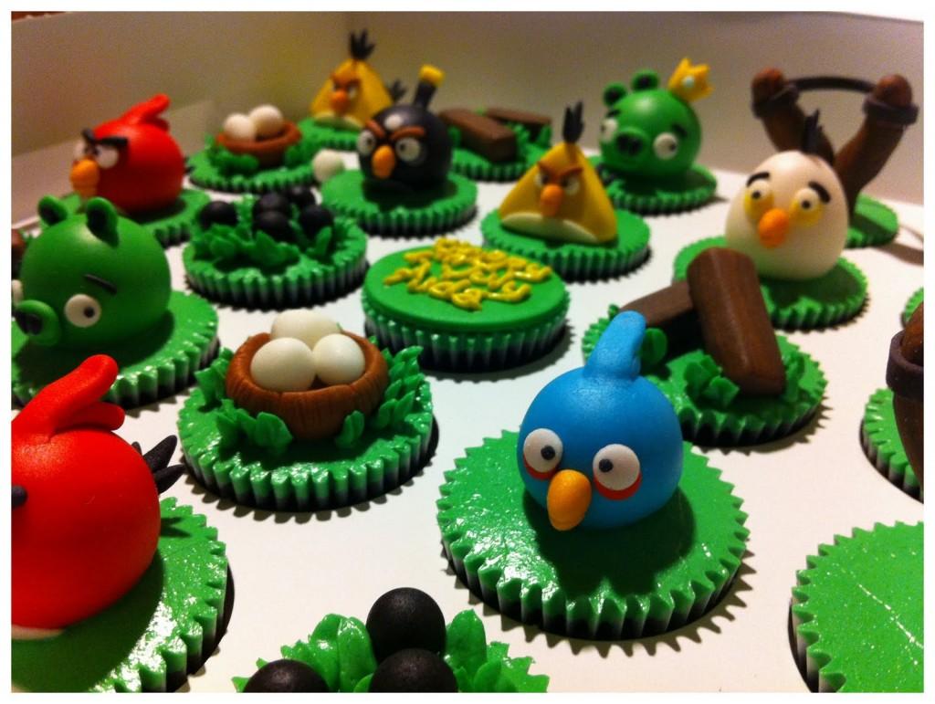 Como decorar una caja con los Angry Birds