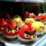 25 Angry Birds Cupcakes Como Hacer y Decorar Cupcakes con Angrybirds