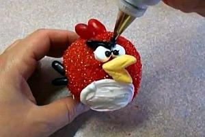 Como decorar cupcakes con losAngry Birds
