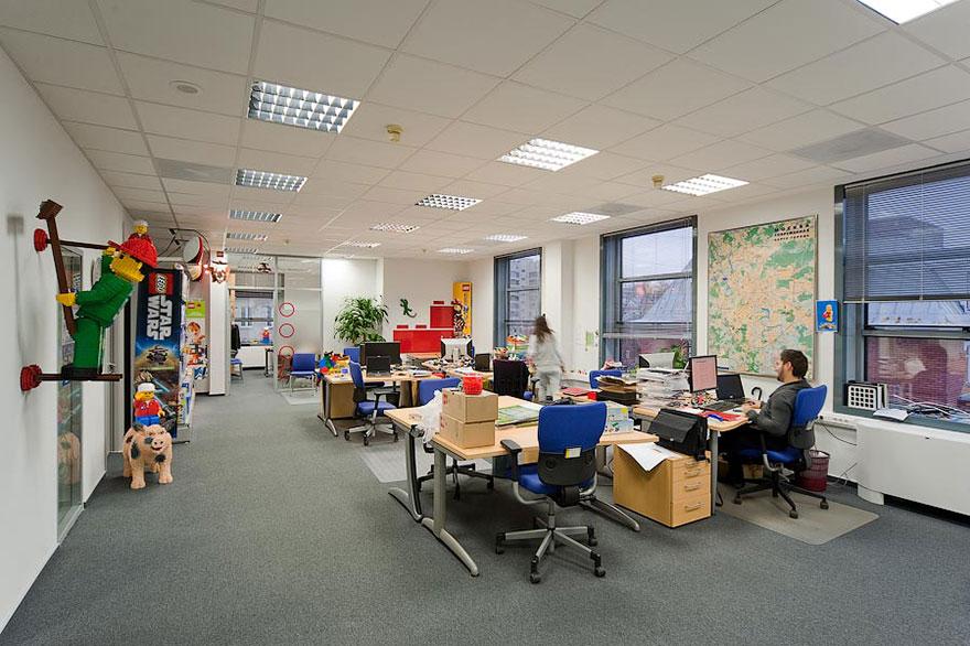 Lego oficinas lugares de trabajpo