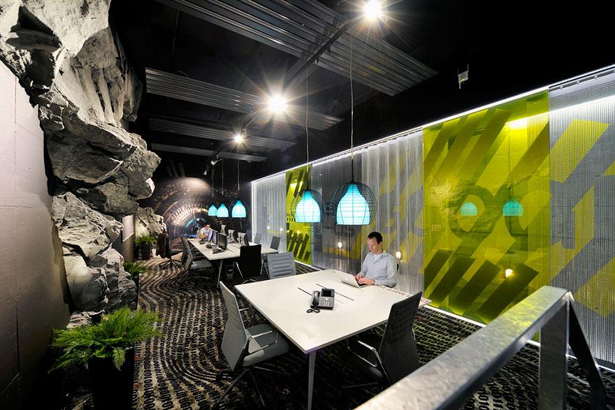 Los Mejores Diseños de Oficinas en Conocidas Empresas del Mundo 1