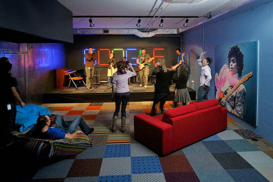 Los Mejores Diseños de Oficinas en Conocidas Empresas del Mundo 2
