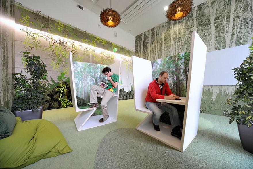 Los Mejores Diseños de Oficinas en Conocidas Empresas del Mundo 3