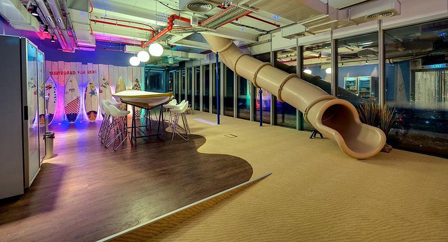 Los Mejores Diseños de Oficinas en Conocidas Empresas del Mundo11
