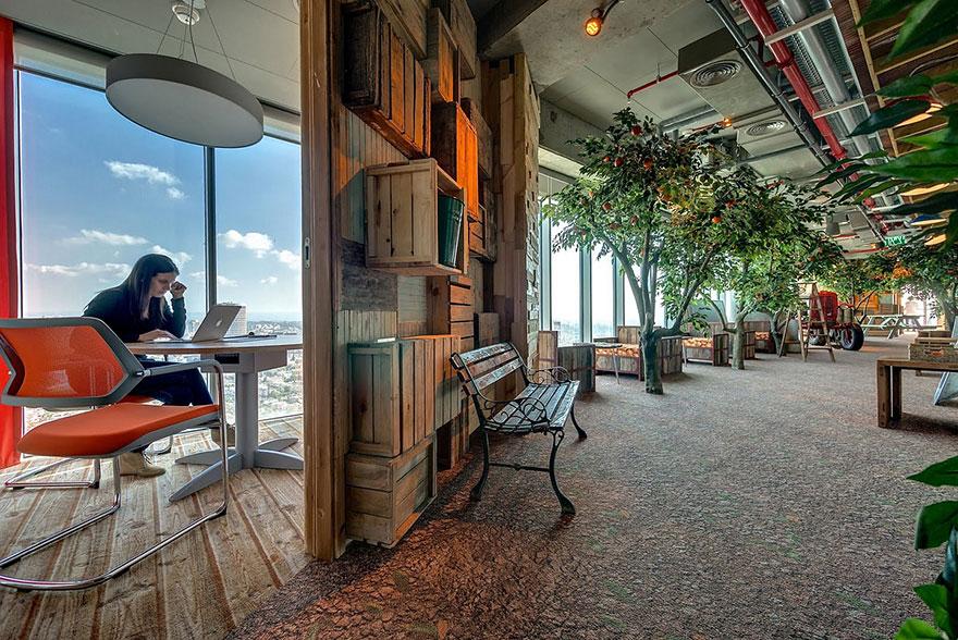 Los Mejores Diseños de Oficinas en Conocidas Empresas del Mundo12