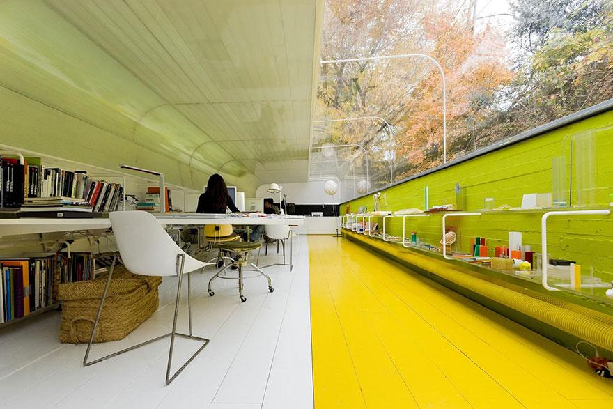 Selgas Cano oficina de arquitectura interior