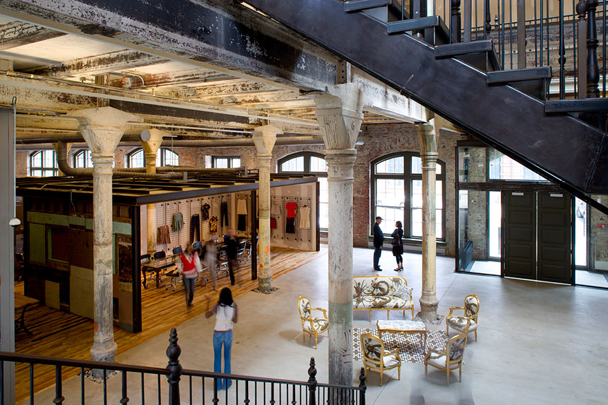 Urban Outfitters hall