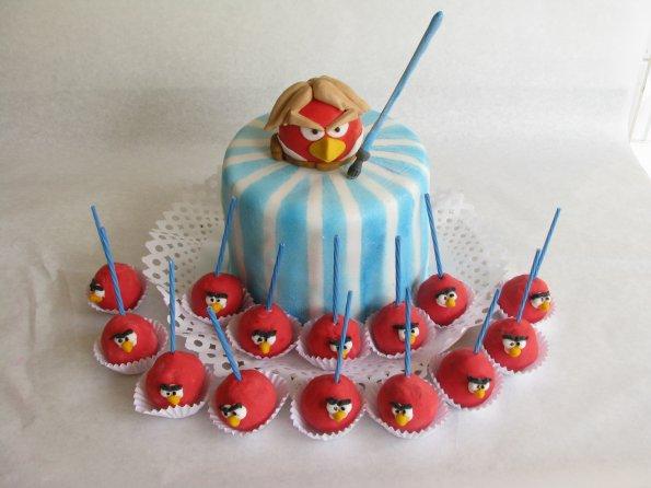 cakes con los Angry Birds