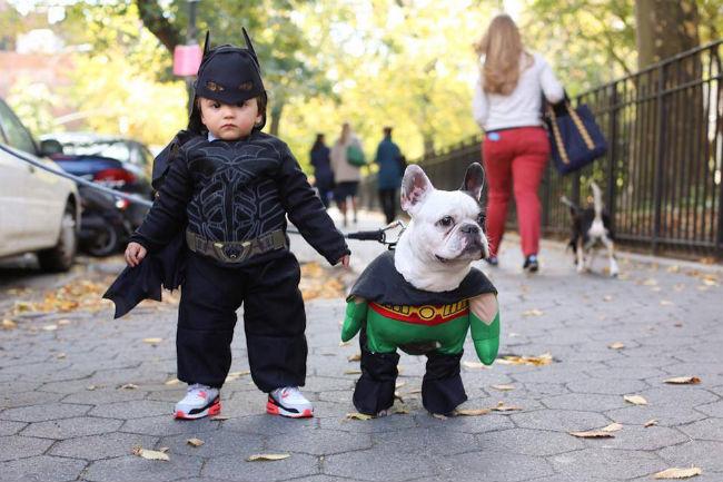 Batman y Robin, preparados para la acción