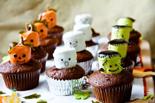 Cupecakes de Halloween