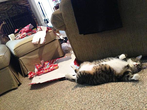 Puedo abrir ya los regalos