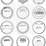 Etiquetas de «Regalo para…» Imprimibles y gratis son super-chulas