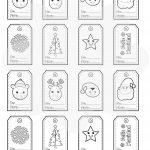 Etiquetas para regalos de Navidad – Descarga Gratis