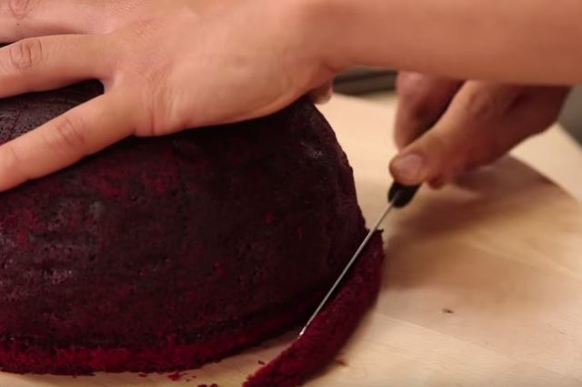 tarta terrorífica para los postres