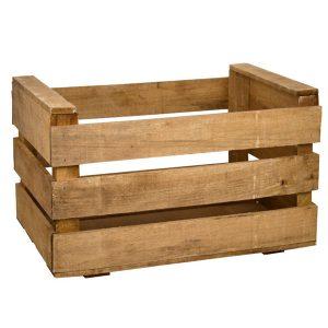 Cajas de fruta para decoración