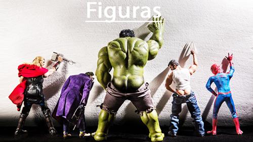 Catálogo online de figuras de gran tamaño para exposición