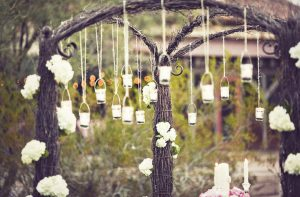 La decoración de bodas vintage