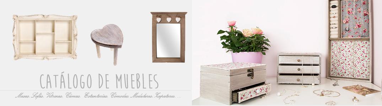 Muebles catálogo on-line