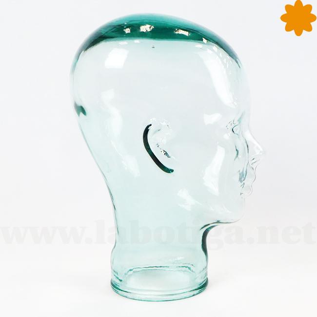 cabeza de vidrio ideal escaparates