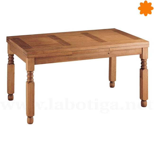 Mesa de madera extensible ideal para el comedor