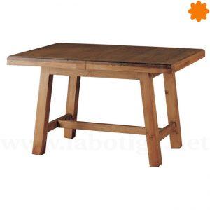 12171 Mesa centro extensible realizada en madera maciza ideal cocina