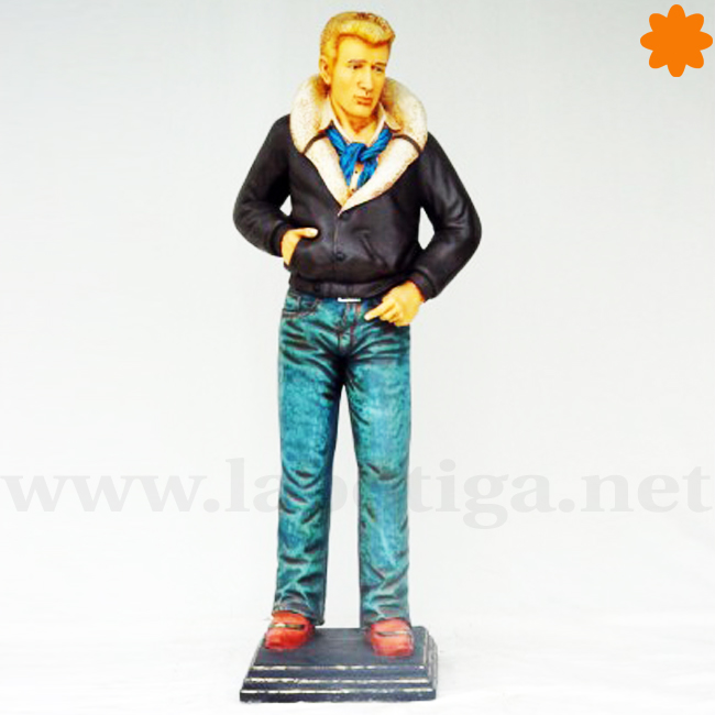 actor James Dean Figura de resina a escala
