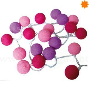 agradable guirnalda de bolas colores estilo el principito