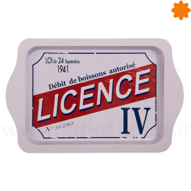 Bandeja Licence IV perfecto para adornar la mesa del comedor