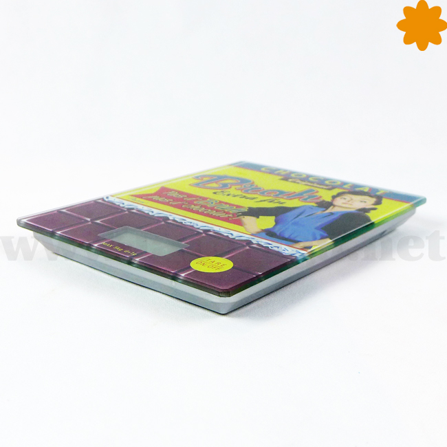 Báscula electrónica de la colección Chocolat Brah