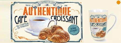 Bistrot du Coin Authentique Café Croissant