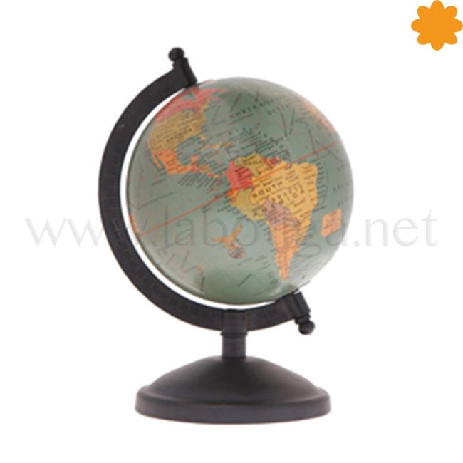 Bola del mundo decorativa para mesa