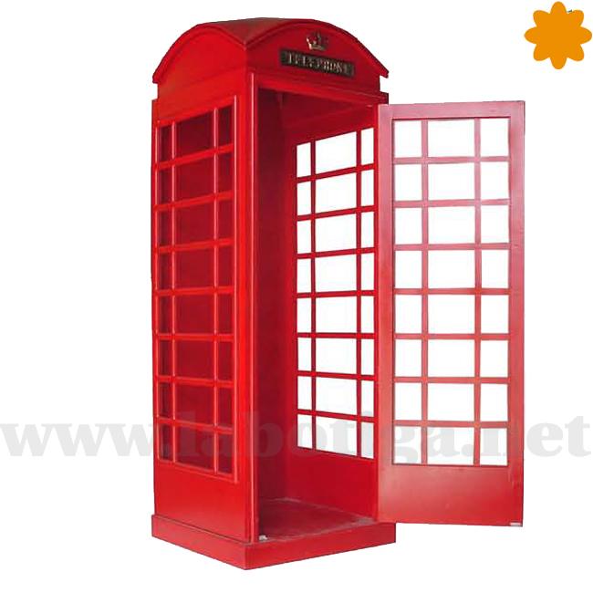 Fabulosa Cabina de Telefono Roja Inglaterra para Photocall