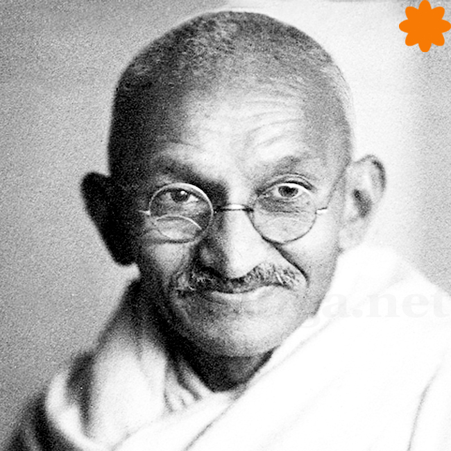 caganer de Gandhi