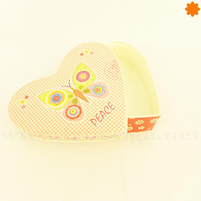 Caja con forma de Corazón Ideal para Regalos a tu Prometida