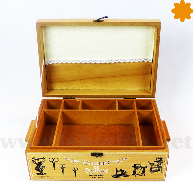caja organizativa de costura