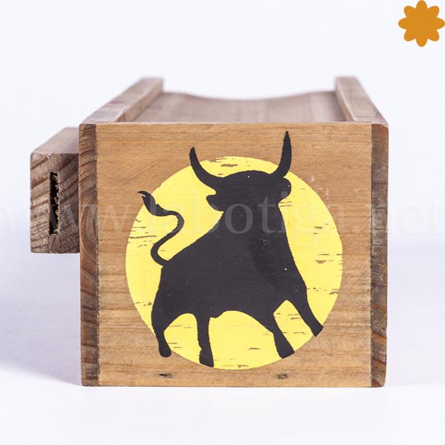 Caja de madera para embutidos