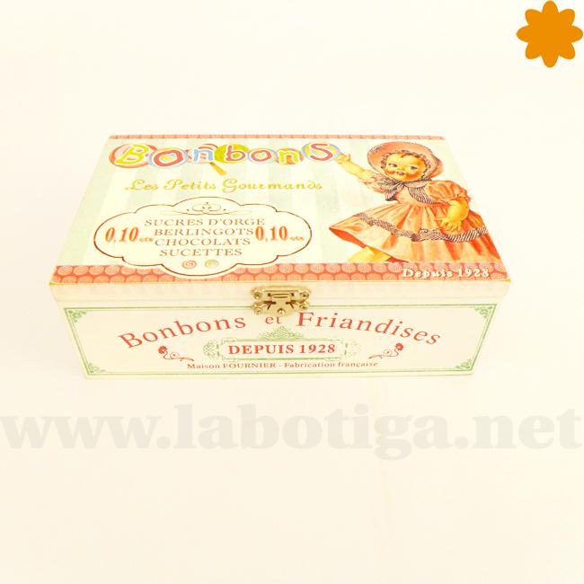 Caja de estilo vintage